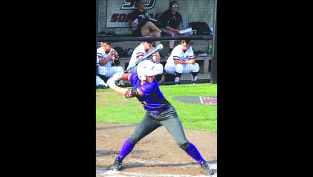 Chandra Parr has earned Missouri Valley Conference postseason honors in softball. Photo provided.