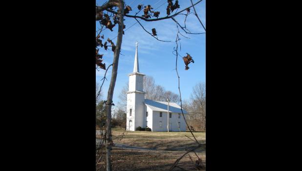 """Kornthal Church in Union County has been named as an """"Architectural Wonder"""" by a Southern Illinois firm."""