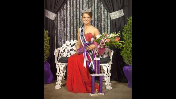 Clare Bunyan of Cobden is the reigning Union County Fair queen. Photo by Tiffiny Dillow for The Gazette-Democrat.