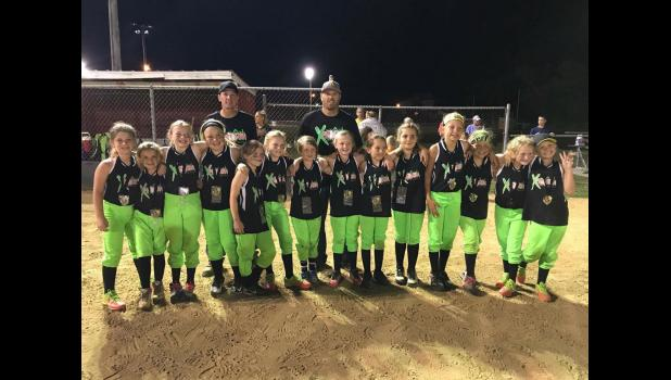 10U: Xplosion, second place.