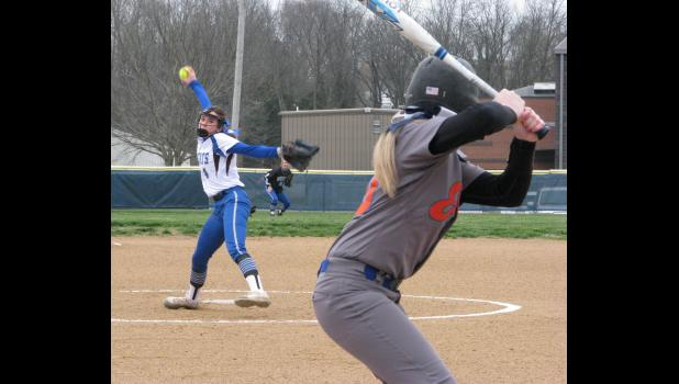 A-J's Morgan Wendling was the winning pitcher in the game against Vienna. The A-J hurler allowed six hits and struck out six Vienna batters during the game.