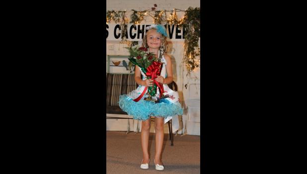 Little Miss Cache River winner: Amber Smith was crowned Little Miss Cache River 2016.
