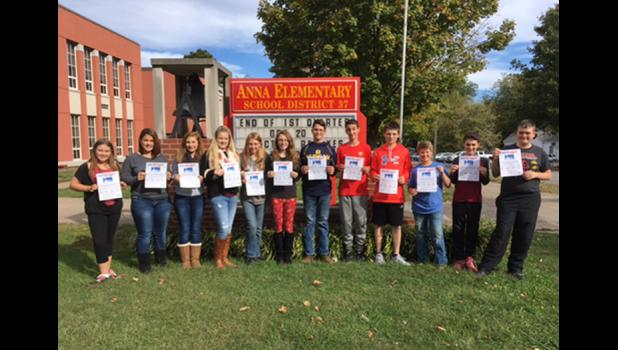 Anna Youth Advisory Committee members are, from left, Caitlin Ames, Camille Turner, Alyvia Lawrence, Gracie Barlow, Destiny Rendon, Evie Eddings, Max Castle, Noah Treece, Ayden Dillman, William Carwyle, Ryan Johnson and Ian Crunk. Photo provided.