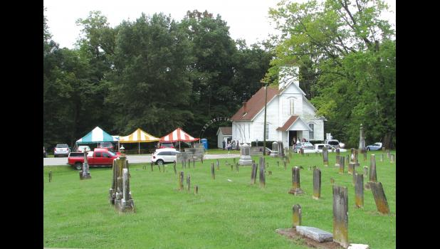 St. John's Lutheran Church near Dongola celebrated its 200th anniversary last Saturday and Sunday.