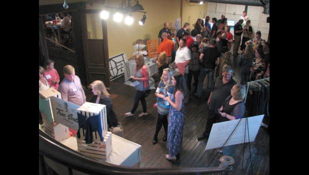 Participants in this year's Union County CEO program presented a trade show Thursday evening, June 1, at The Old Feed Store in Cobden. The trade show was part of a celebration for the 2016-2017 program and featured businesses created by CEO team members.