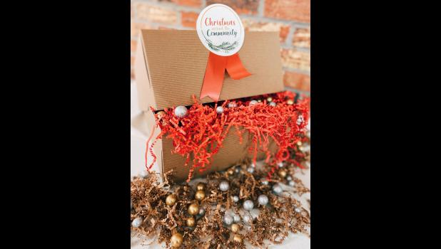 "The Union County CEO program is creating and selling ""Christmas Around the Community"" gift boxes."