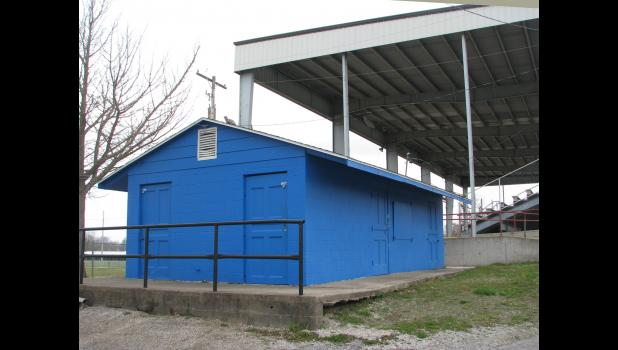 A concession stand building at the Anna City Park will be razed. A new concession building with restrooms will be built.