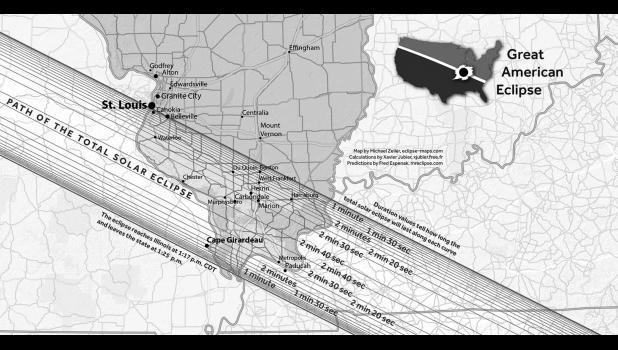 Map from eclipse.siu.edu.