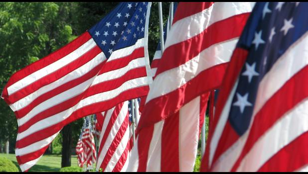 American flags were on display last week at the Illinois Veterans Home in Anna. The veterans home is located along North Main Street in Anna. The nation will join in the celebration of Independence Day on Tuesday, July 4th. Independence Day celebrations are planned throughout the region. Many of the celebrations will include fireworks displays.
