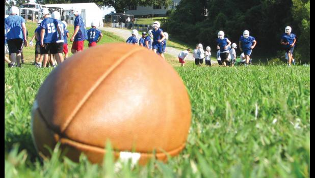 The Anna-Jonesboro Wildcat football team has been practicing in preparation for its its 2016 season opener, which is set for this Friday night.