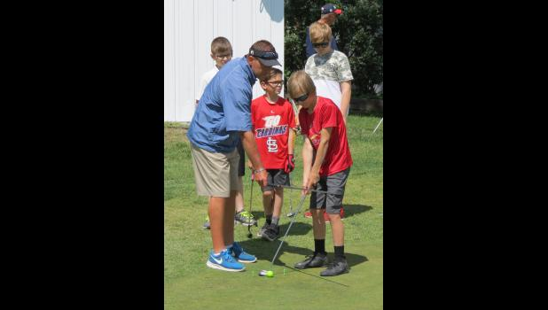 Union County Country Club PGA professional Brandon Bierstedt shared tips about putting.