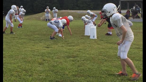 The Wildcat Youth Football League is preparing for its season opener. Photo provided.