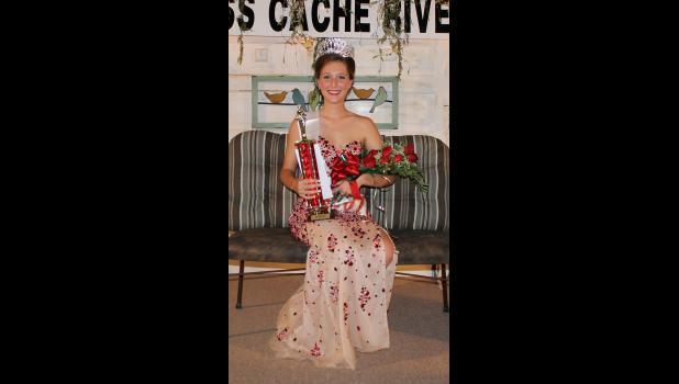 Miss Cache River winner: Katelynn Williams was crowned Miss Cache River 2016.