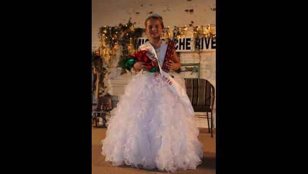 Junior Miss Cache River winner: Kiara Aden was crowned Junior Miss Cache River 2016.