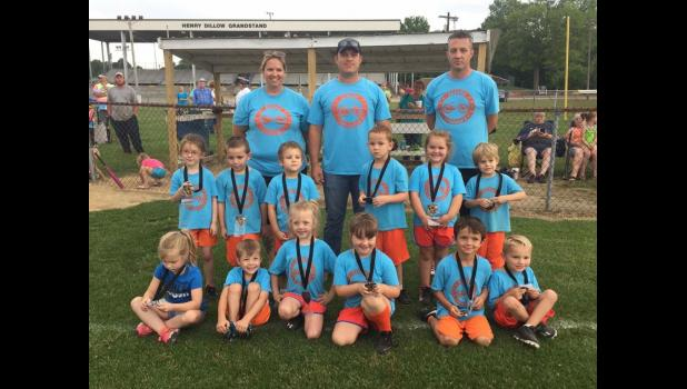 First year T-ball: Little Cruisers, first place.