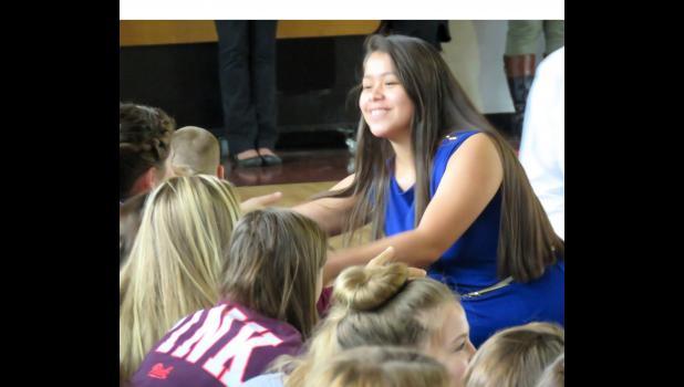 Seniors put on mock debate, election at Cobden High School ...