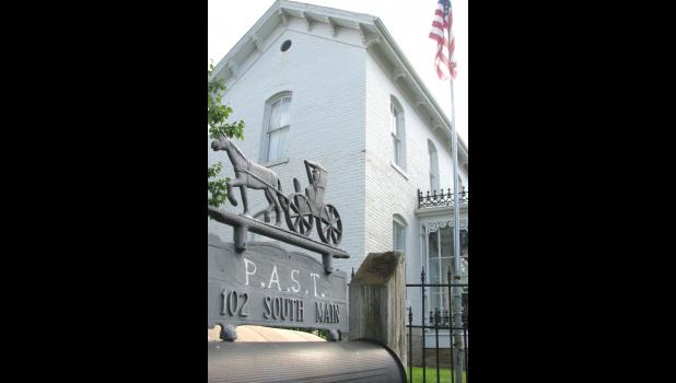The PAST organization of Union County operates the Heritage House in Jonesboro. File photo.