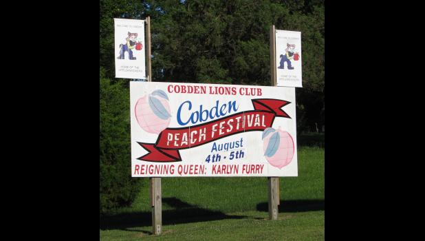 The annual Cobden Peach Festival is scheduled Friday and Saturday, Aug. 4-5, with most of the activities taking place at the Cobden Community Park.