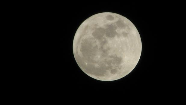 "A ""super moon"" appeared on a bitter cold and clear New Year's night in the sky over Union County."