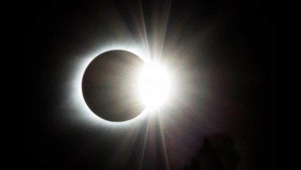 Tiffiny Dillow shared this image of Monday's solar eclipse.