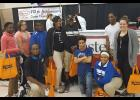 In the first row are, from left, Tyrone Harris Jr., D'Erick Menz, Malia Lester and Caitlin Sawyer. In the second row are Issence Jones, Haley King, Keron Jackson, JaeAnna Pritchard, Malachi Brown and Israell Whitfield. Photo provided.