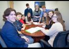 Students in CEO program This photo of the CEO class by Bonni Littleton Photography was recently featured in large recruitment posters on display in participating high schools. From left are Bryce Osman, Anna-Jonesboro Community High School; Alex Rogers, A-JCHS; from Cobden High School, Alejandra Lopez, Grace Schroeder, John Russell, Grace Pitts, Conner Allen and Zoe Fuhrhop; Megan Rhine, A-JCHS; and Cheyenne Thorn, from Shawnee Hills Christan Academy in Anna. Photo provided.